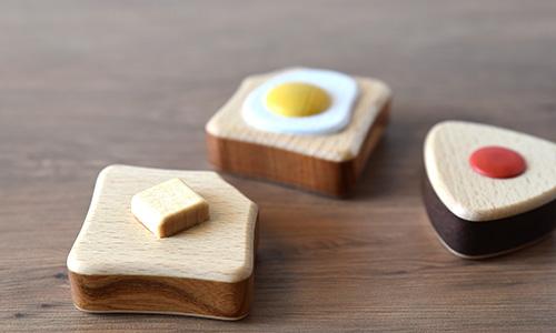 バタートーストのラトル/ナカムラ工房